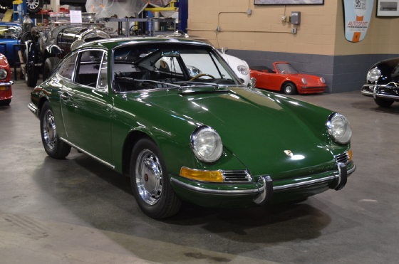 1966 Porsche 912 Coupe:9 car images available