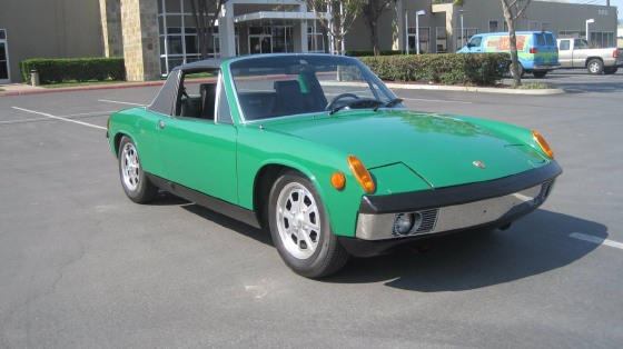 1973 Porsche 914 1.7:9 car images available