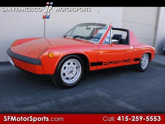 1971 Porsche 914 1.7:24 car images available
