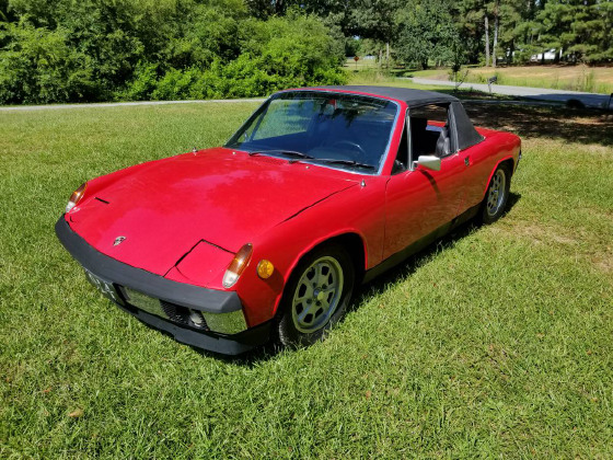1973 Porsche 914 1.7:7 car images available