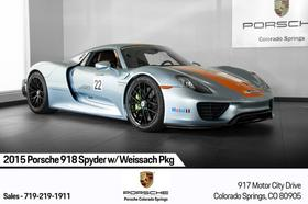2015 Porsche 918 Spyder:24 car images available