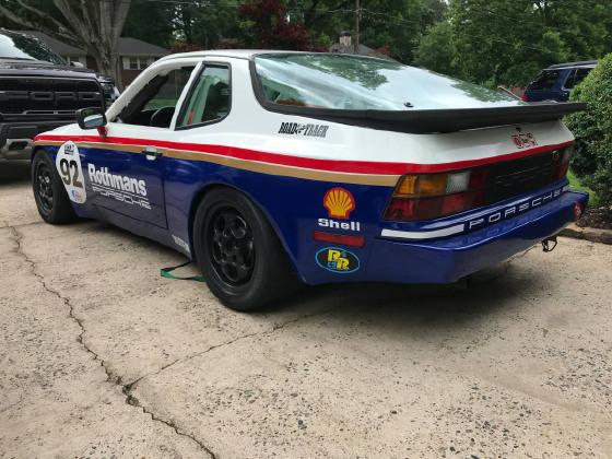 1988 Porsche 944 Race Car