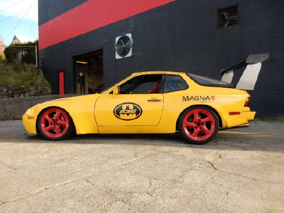1986 Porsche 944 Race Car:12 car images available