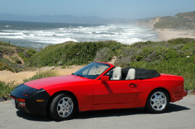1990 Porsche 944 S2 Cabriolet:6 car images available