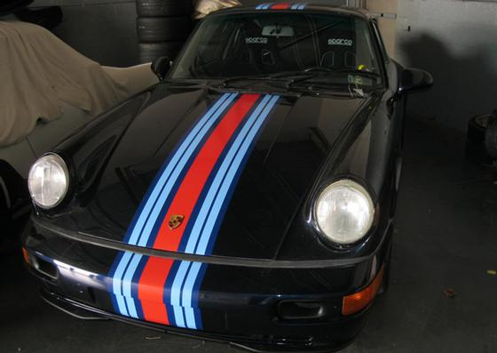 1992 Porsche 964  : Car has generic photo