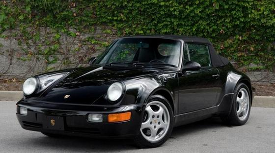 1992 Porsche 964 America Roadster:24 car images available