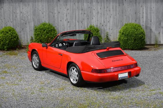 1990 Porsche 964 Carrera Cabriolet
