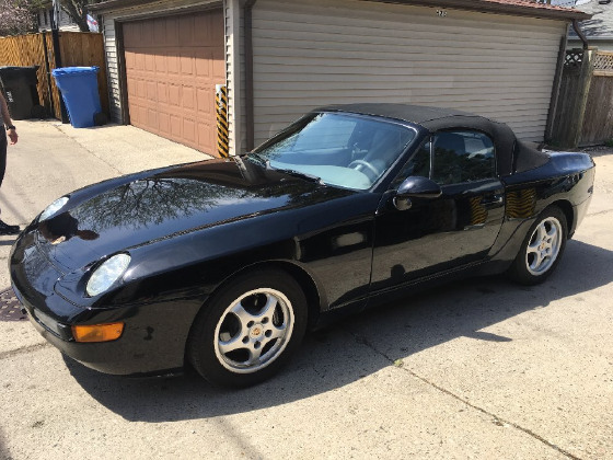 1995 Porsche 968 Cabriolet:3 car images available