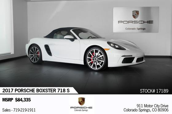 2017 Porsche Boxster :24 car images available