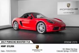2017 Porsche Boxster :21 car images available