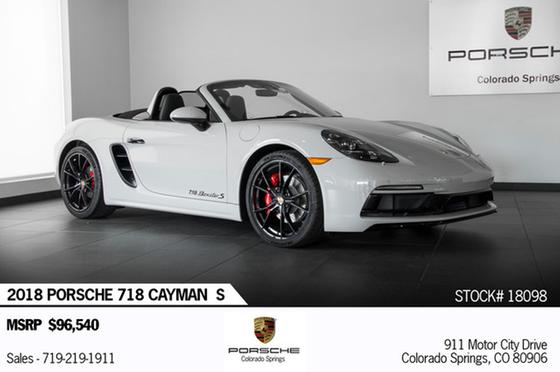 2018 Porsche Boxster 718 S:24 car images available
