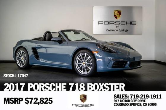 2017 Porsche Boxster 718:19 car images available