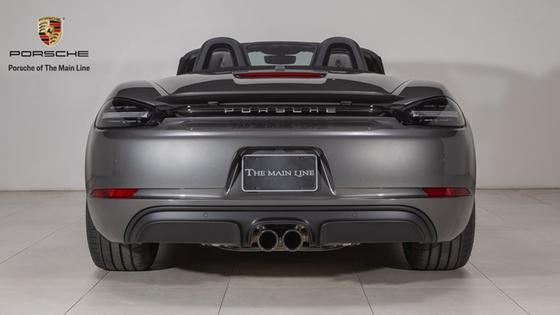 2018 Porsche Boxster 718