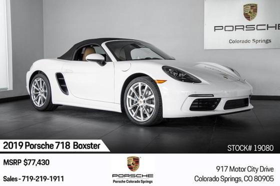 2019 Porsche Boxster 718:24 car images available