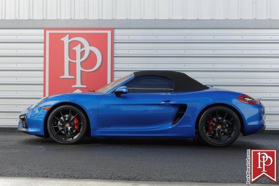 2016 Porsche Boxster GTS