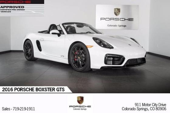 2016 Porsche Boxster GTS:20 car images available