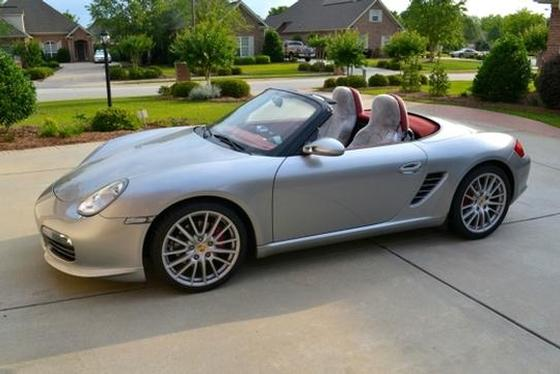 2008 Porsche Boxster RS 60 Spyder:4 car images available
