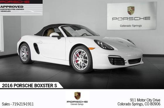 2016 Porsche Boxster S:23 car images available