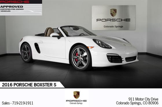 2016 Porsche Boxster S:21 car images available