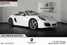 2016 Porsche Boxster S:21 car images available
