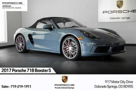 2017 Porsche Boxster S:24 car images available