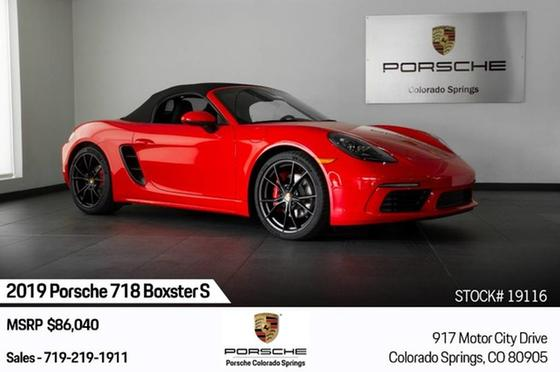 2019 Porsche Boxster S:24 car images available