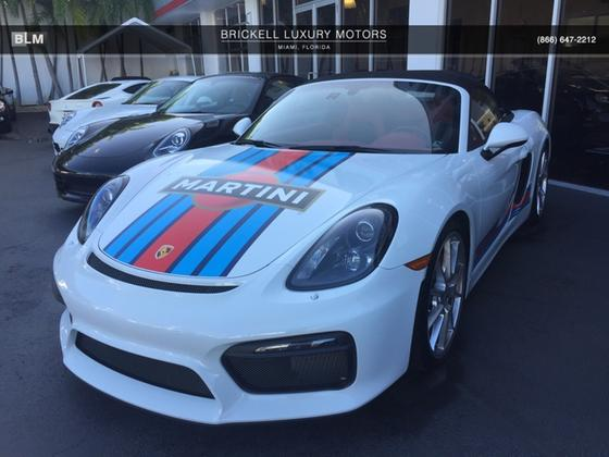 2016 Porsche Boxster Spyder:7 car images available
