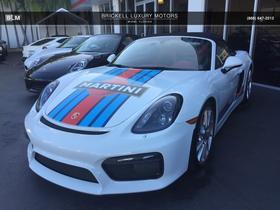 2016 Porsche Boxster Spyder:7 car images available