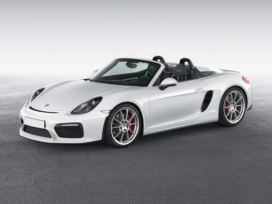 2016 Porsche Boxster Spyder : Car has generic photo