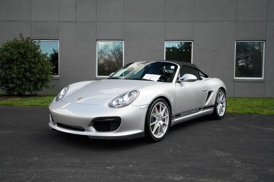 2011 Porsche Boxster Spyder:24 car images available