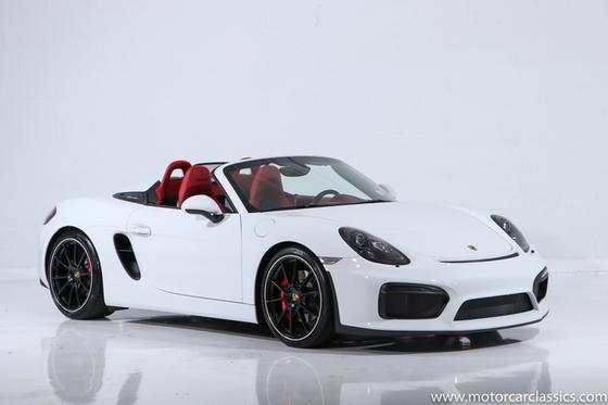 2016 Porsche Boxster Spyder