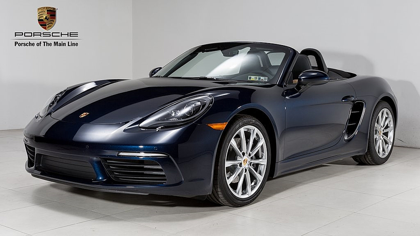 2018 Porsche Boxster V6:21 car images available