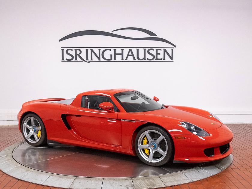 2005 Porsche Carrera GT :18 car images available
