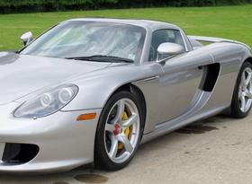 2005 Porsche Carrera GT Roadster Convertible