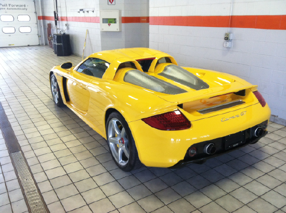 2004 Porsche Carrera GT Roadster Convertible:5 car images available