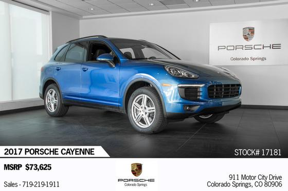 2017 Porsche Cayenne :18 car images available