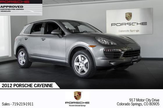 2012 Porsche Cayenne :24 car images available
