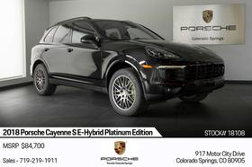 2018 Porsche Cayenne :24 car images available