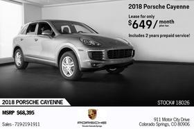 2018 Porsche Cayenne :24 car images available