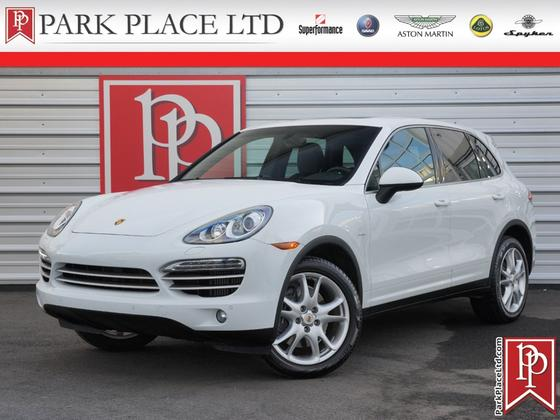 2014 Porsche Cayenne Diesel Platinum Edition:24 car images available