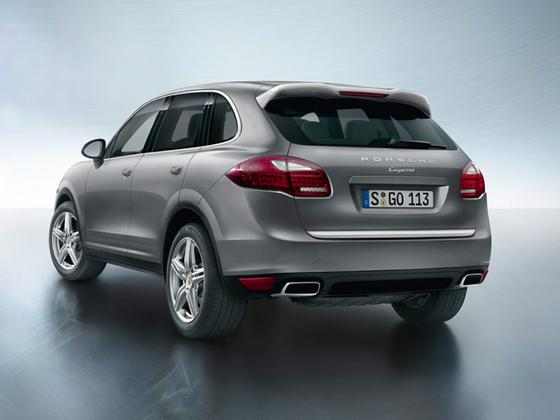 2014 Porsche Cayenne Diesel Platinum Edition : Car has generic photo