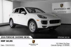 2016 Porsche Cayenne Diesel:24 car images available