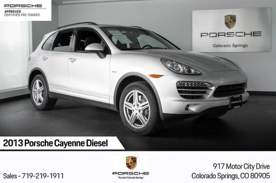 2013 Porsche Cayenne Diesel:24 car images available