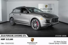 2018 Porsche Cayenne GTS:24 car images available