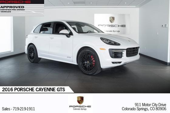 2016 Porsche Cayenne GTS:22 car images available