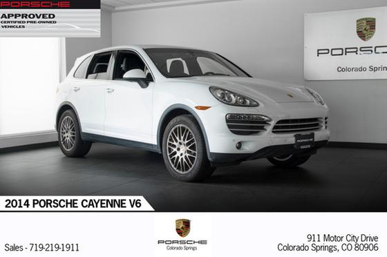2014 Porsche Cayenne Platinum Edition:19 car images available