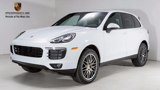 2018 Porsche Cayenne Platinum Edition:2 car images available