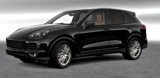 2018 Porsche Cayenne Platinum Edition:2 car images available