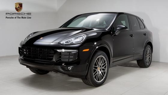 2018 Porsche Cayenne Platinum Edition:24 car images available
