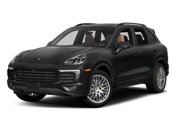2018 Porsche Cayenne Platinum Edition : Car has generic photo